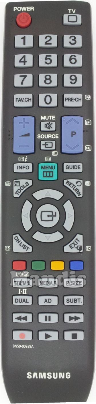 Ersatz Fernbedienung passend für Samsung LE32B653T5W//XXCLE37B550A5P//XXN