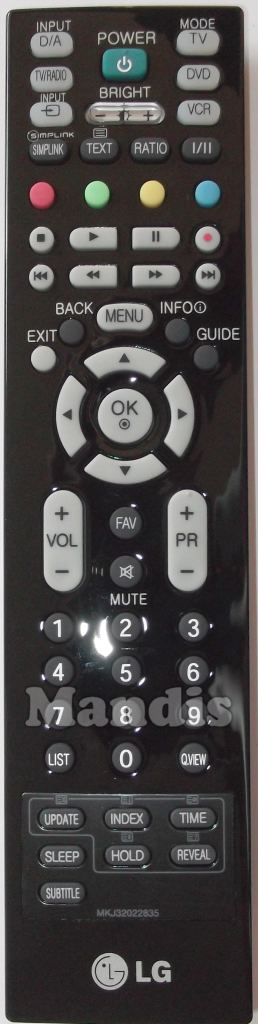 New Remote Control for TV LG   26LC46