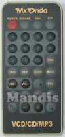 Original remote control MXONDA VCD/CD/MP3