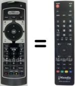 Replacement remote control MEDIASET PREMIUM ONDEMAND