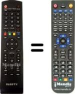 Replacement remote control eLEDTV eLEDTV5