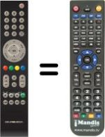 Replacement remote control CCC-Group 8967-002