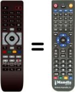 Replacement remote control Ote TV DSI-810