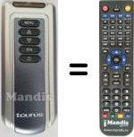 Replacement remote control Taurus Dubai 2000