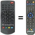 Replacement remote control TELIT GALILEO