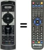 Replacement remote control MEDIASET PREMIUM ON DEMAND