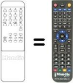 Replacement remote control Gm 30 PROG