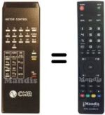 Replacement remote control CMR GALILEO 6000