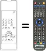 Replacement remote control Soniko ST5501PS