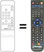 Replacement remote control Preisner SL1000LX