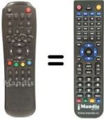 Replacement remote control MAGIKE MGK4000CI
