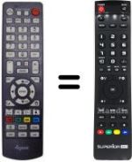 Replacement remote control 4GEEK MEDLEY 3 MKV
